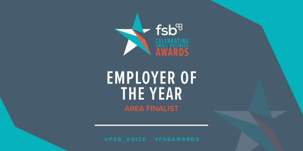 We've been shortlisted for 'Employer of the Year'