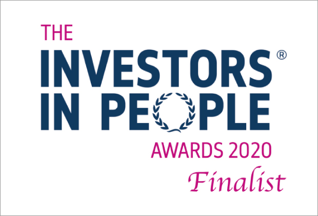 We've been shortlisted for Investors In People Employer of the Year Award