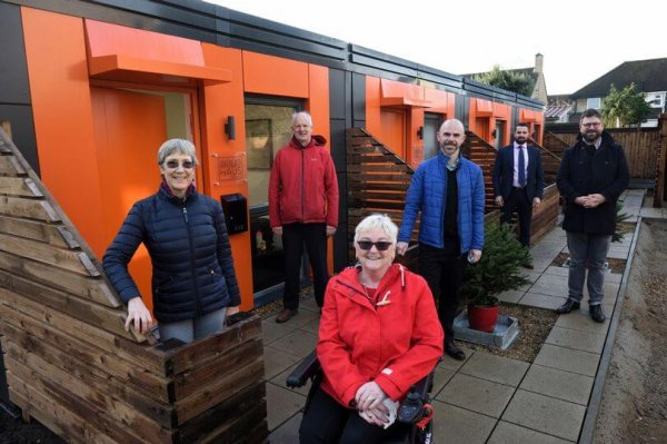Former rough sleepers to move into Chesterton modular micro-homes before Christmas